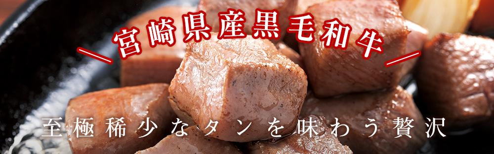 【秋限定】ひとくちタンステーキ